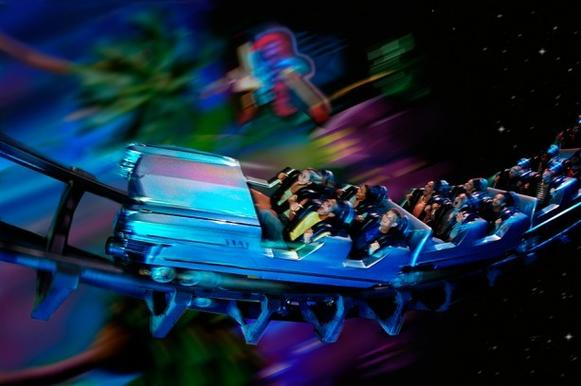 Riders will listen to Aerosmith songs as they cruise through scenery resembling the freeways of Los Angeles.<br/><br/>