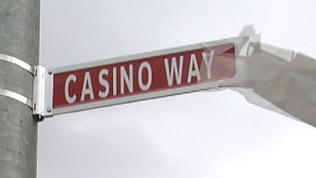 Horseshoe Casino street dedication [Video]