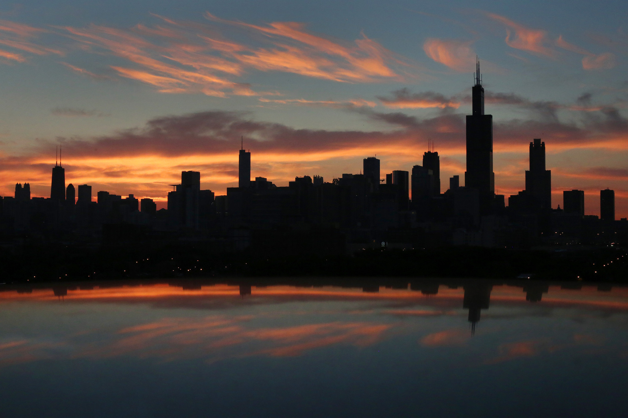 Sunrise Chicago Tribune