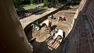 W&M's Brown Hall Dig