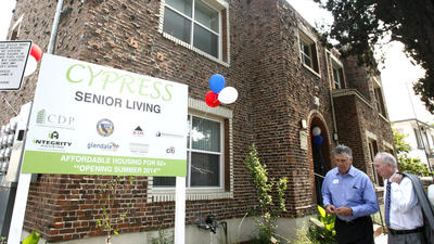 Glendale housing for low-income seniors, retired veterans opens its doors