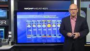 Video: Warm and sunny today; possible rain this evening