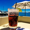The Cranberry Ginger Crush, the Boathouse Canton