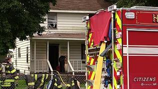 Video: House Fire on Shell Road