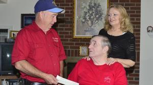 King William Ruritans donate $2,100 to local veteran