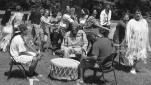 RCC students visit Rappahannock Tribe in Indian Neck