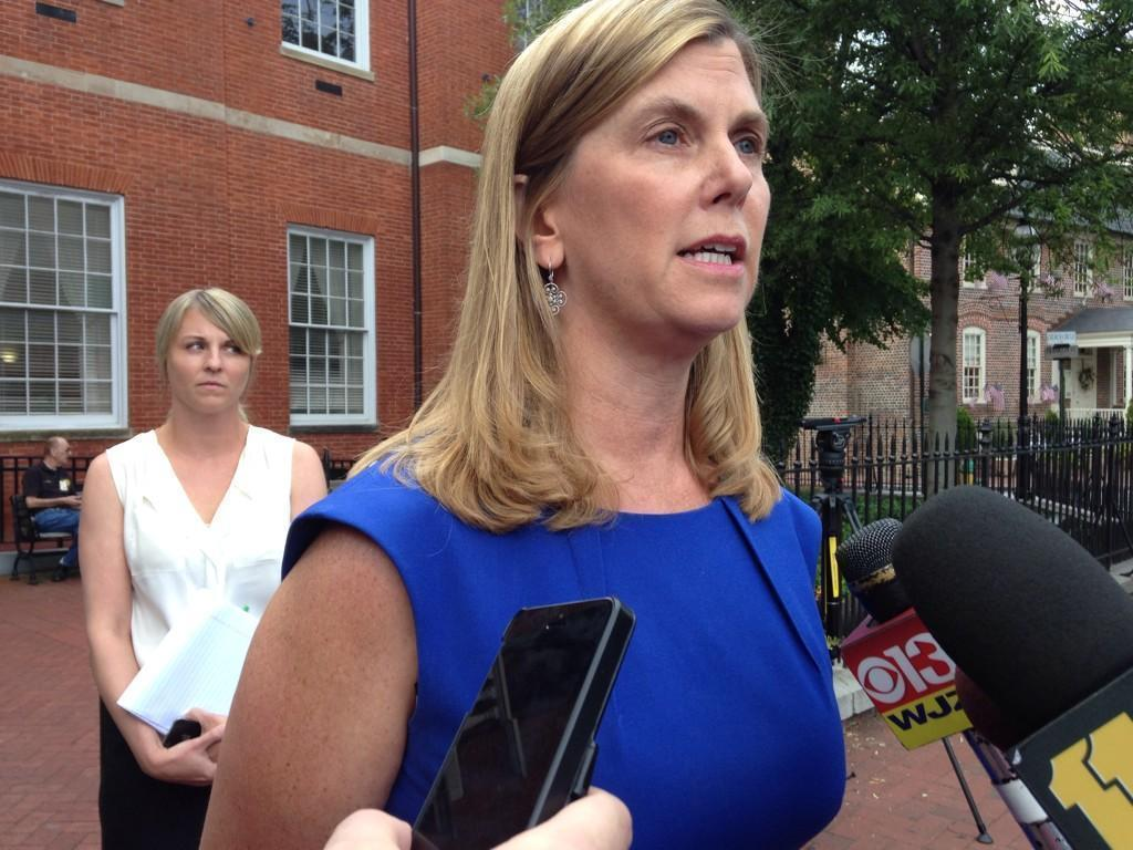 After the not guilty verdict was read, Anne Arundel County State's Attorney Anne Colt Leitess spoke with reporters, expressing disappointment in the outcome.