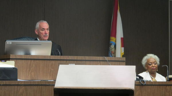 Judge John J. Murphy III ended up with the Broward District 2 case.