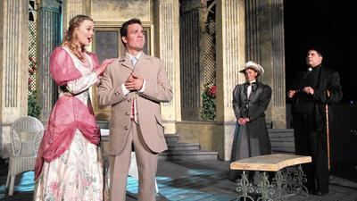 Alfresco 'Earnest' is played deliciously straight
