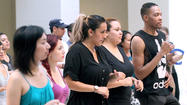 Photo Gallery: Latin dance class at the Galleria