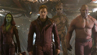 3 stars for 'Guardians of the Galaxy'