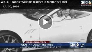 Video: Jonnie Williams testifies in McDonnell trial