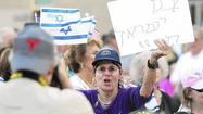 Photo Gallery: Pro-Israel Demonstration In Irvine
