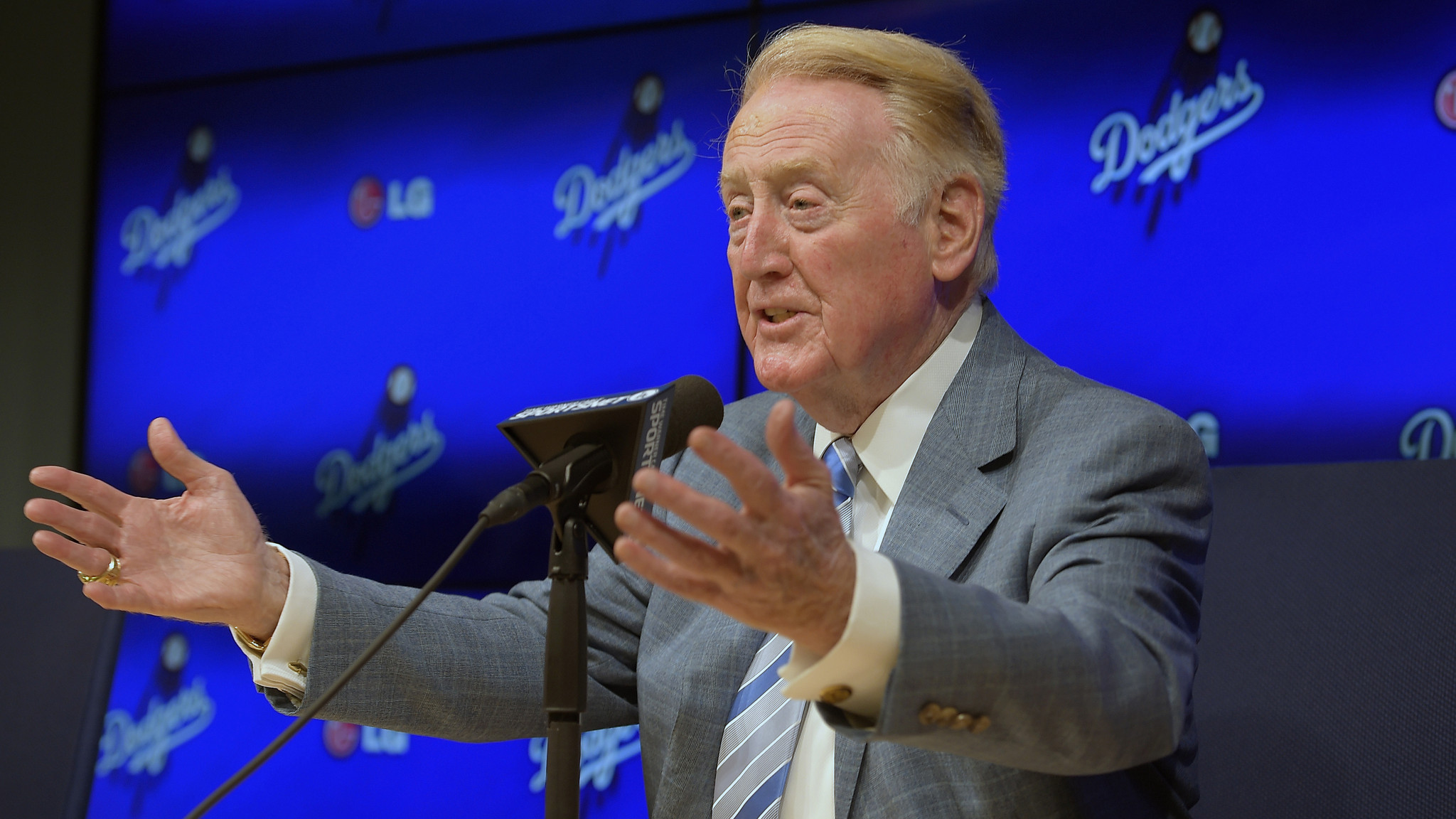 Vin Scully will never understand how deeply he's touched us