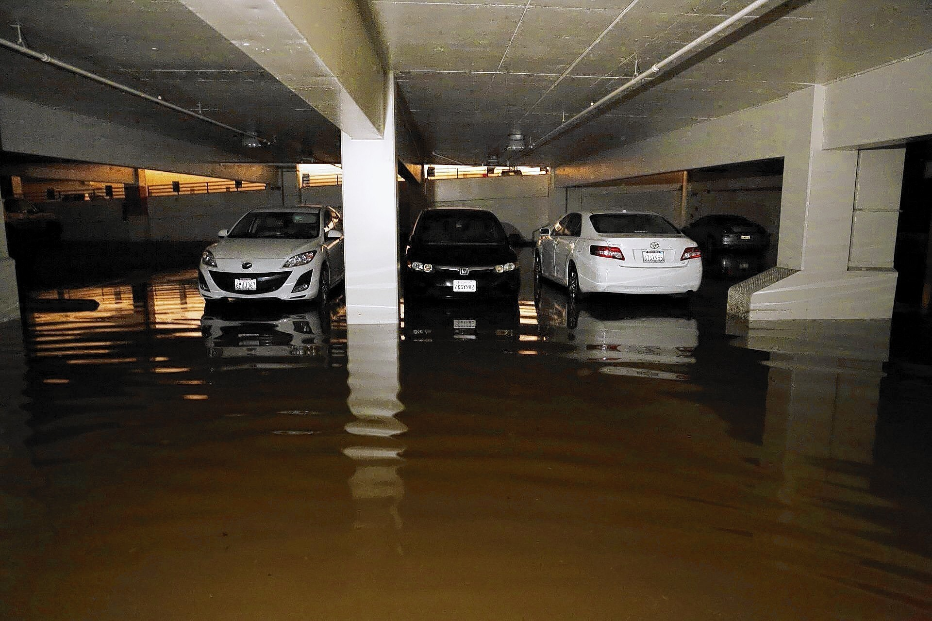 UCLA flood from water line rupture is red flag for L.A. infrastructure