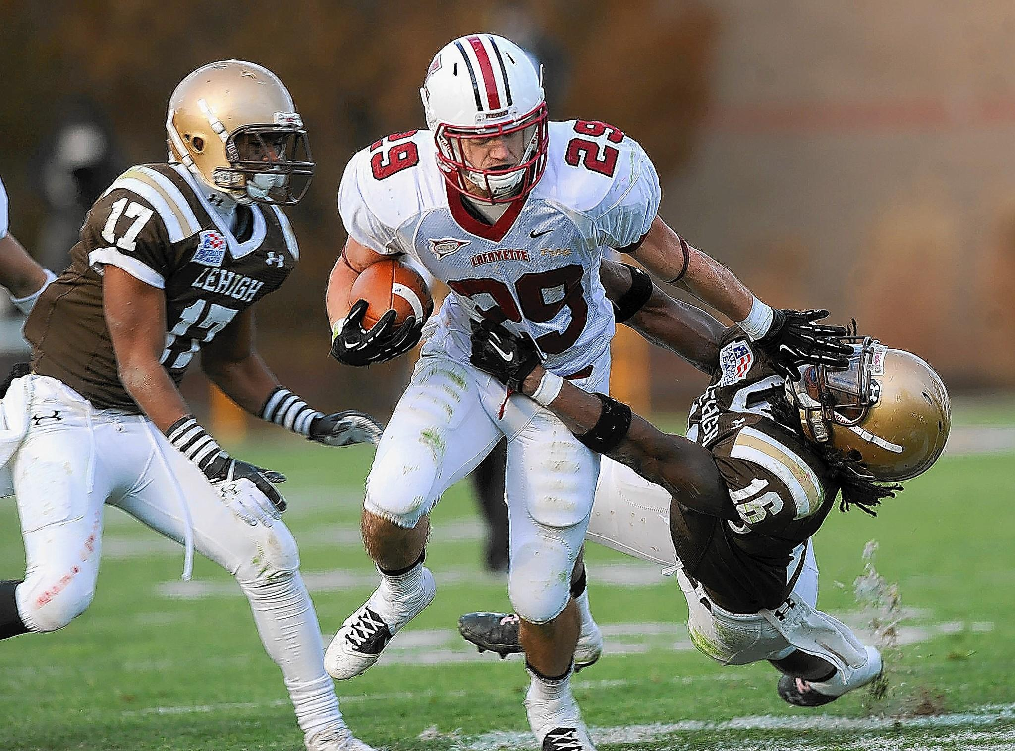 Running back Ross Scheuerman is one of Lafayette's senior leaders.