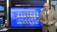 Video: Warm temps, spotty showers possible