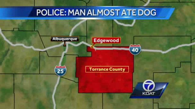 Man accused of killing, cooking dog