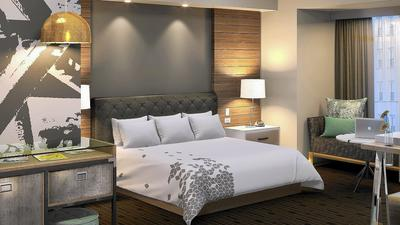 A peek inside Allentown's high-end hotel