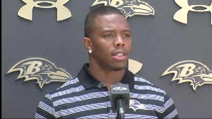 Ravens' Rice apologizes to wife, addresses suspension [Video]