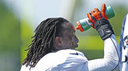 Photos: First padded practice at Bears training camp