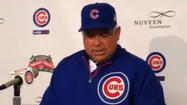 Video: Renteria on Cubs' win, trade