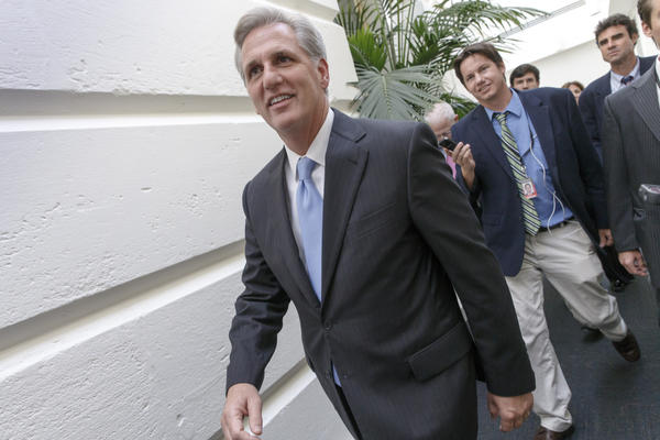 House Majority Leader Kevin McCarthy. (J. Scott Applewhite / Associated Press)