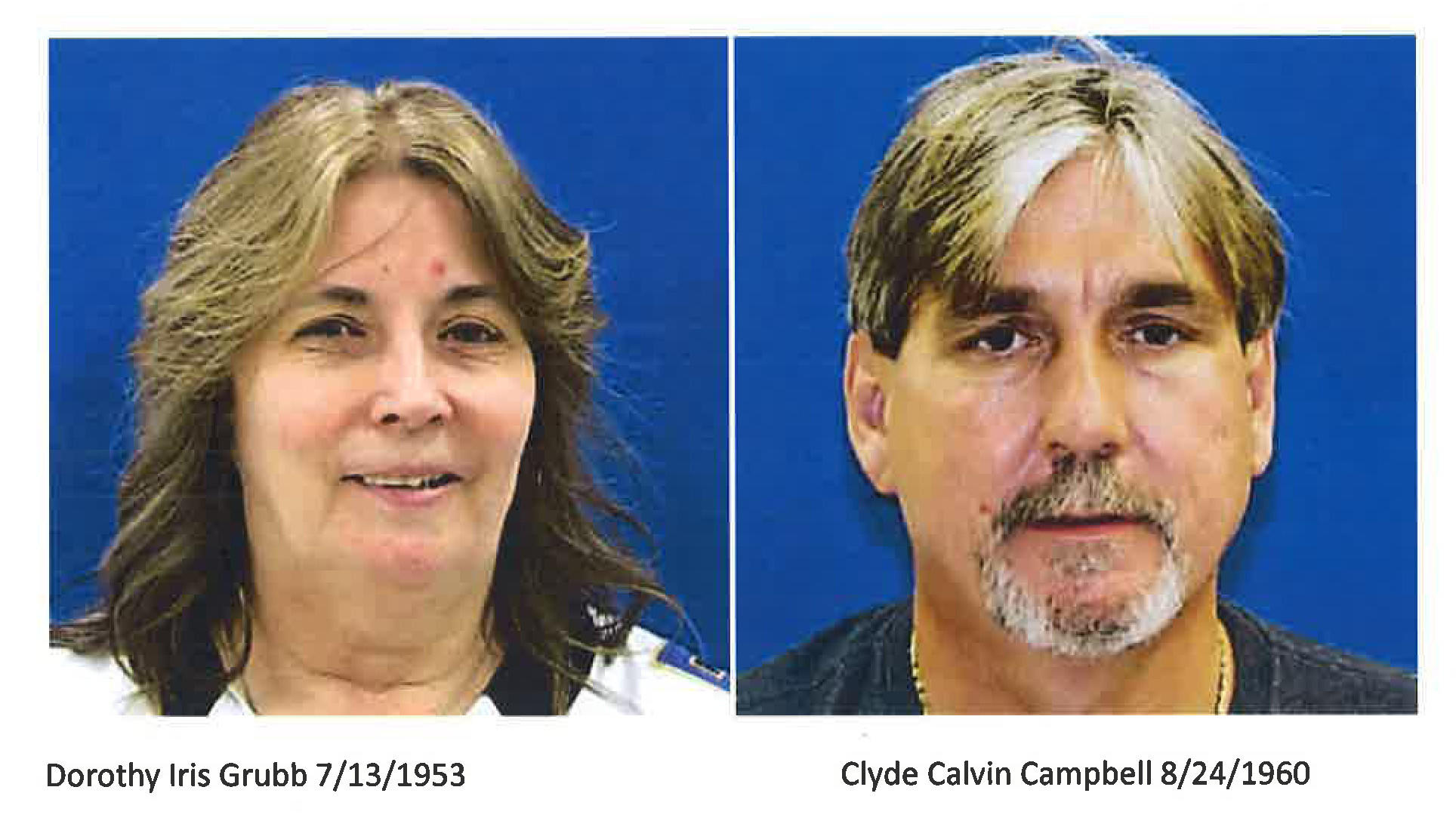 Police have identified a body found in Dundalk July 29, 2014, as Dorothy Iris Grubb of North Point. Her boyfriend, Clyde Calvin Campbell, has been arrested on an open warrant for a prior weapons violations, police said.