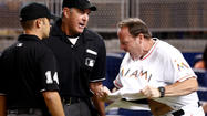 Overturned out call at plate leaves Marlins disgusted in defeat