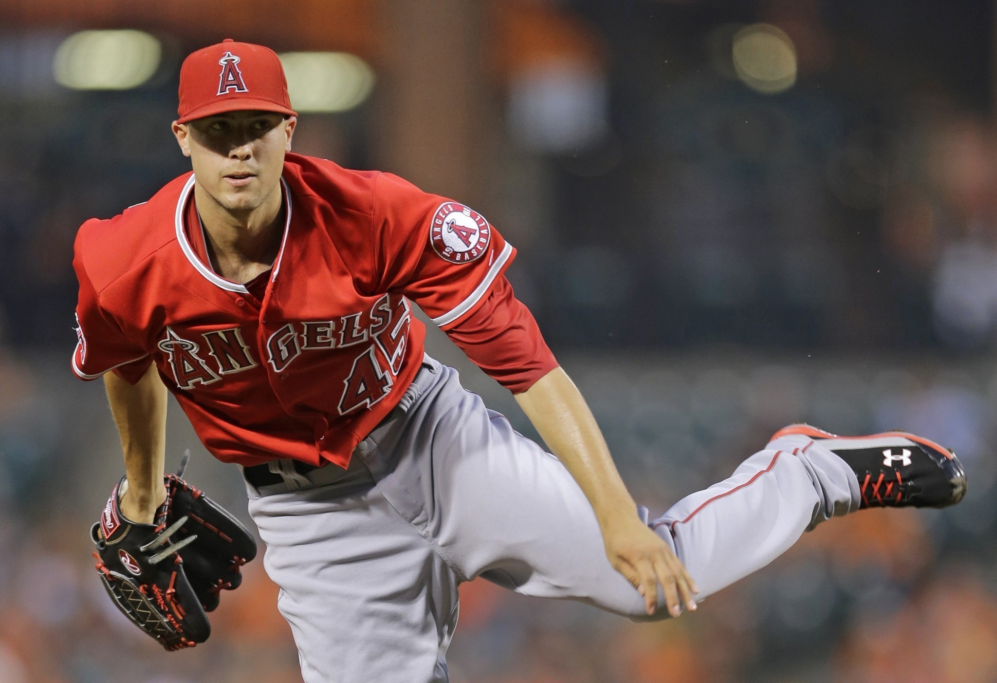 Tyler Skaggs pulled early, Angels take Orioles to extras for 1-0 win