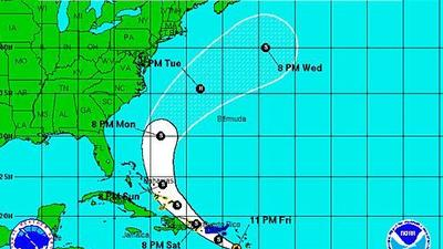 Tropical Storm Bertha threatens U.S. Virgin Islands, Puerto Rico