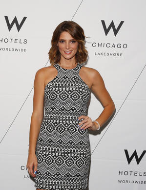 Actress Ashley Greene appears at W Chicago - Lakeshore hotel's renovation reveal party July 31, 2014.