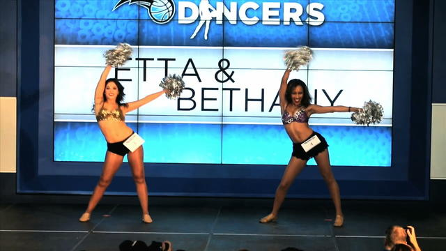 Orlando Magic Dancers shake it up during tryouts