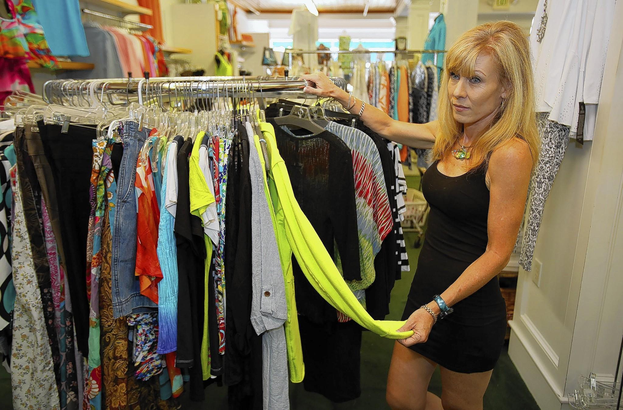 Bootie Pearson owns The Drawer, a popular downtown Mount Dora store that is closing after 46 years.