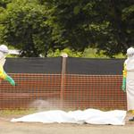 Fighting Ebola is 'like trying to change a tire in a hurricane'