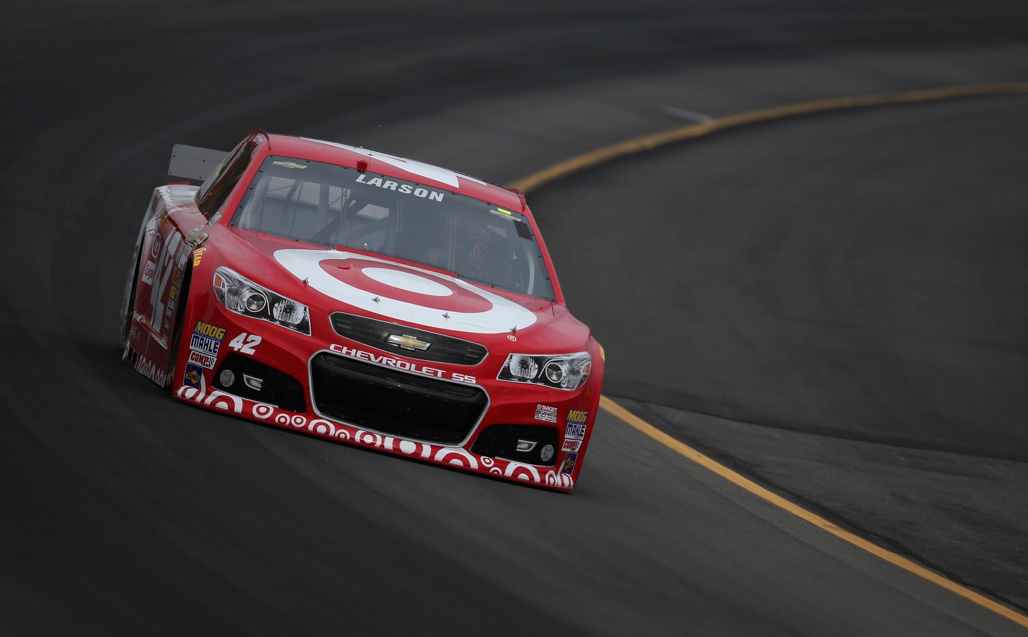 Kyle Larson Sets Mark For Top Speed In Qualifying At Pocono Raceway