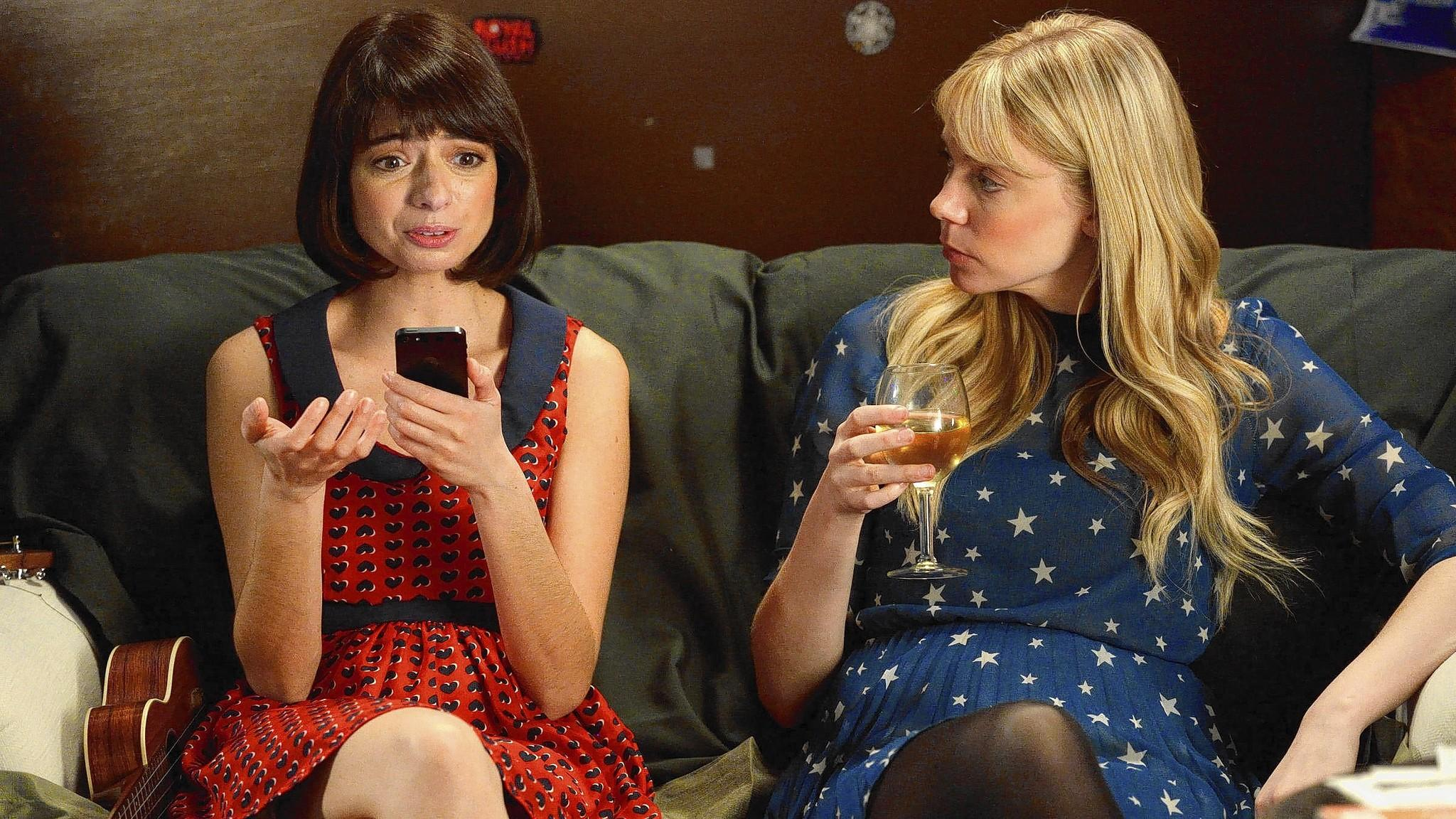 Nazareth native Kate Micucci (left) and her musical duo partner Riki Lindhome star in the new IFC series 'Garfunkel and Oates,' based on their touring comedy act.
