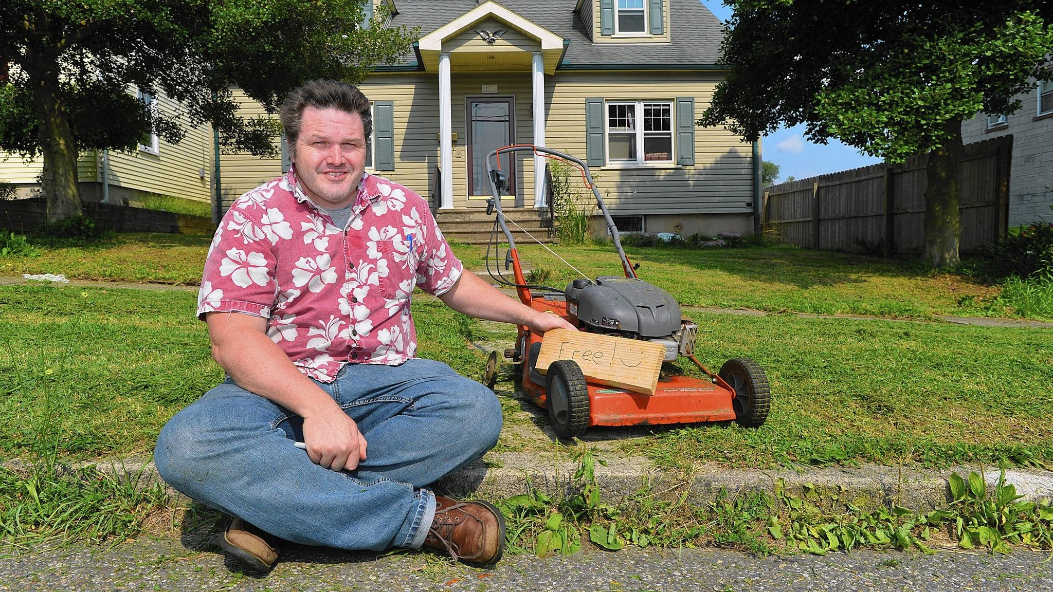 What is a cheap lawnmower?