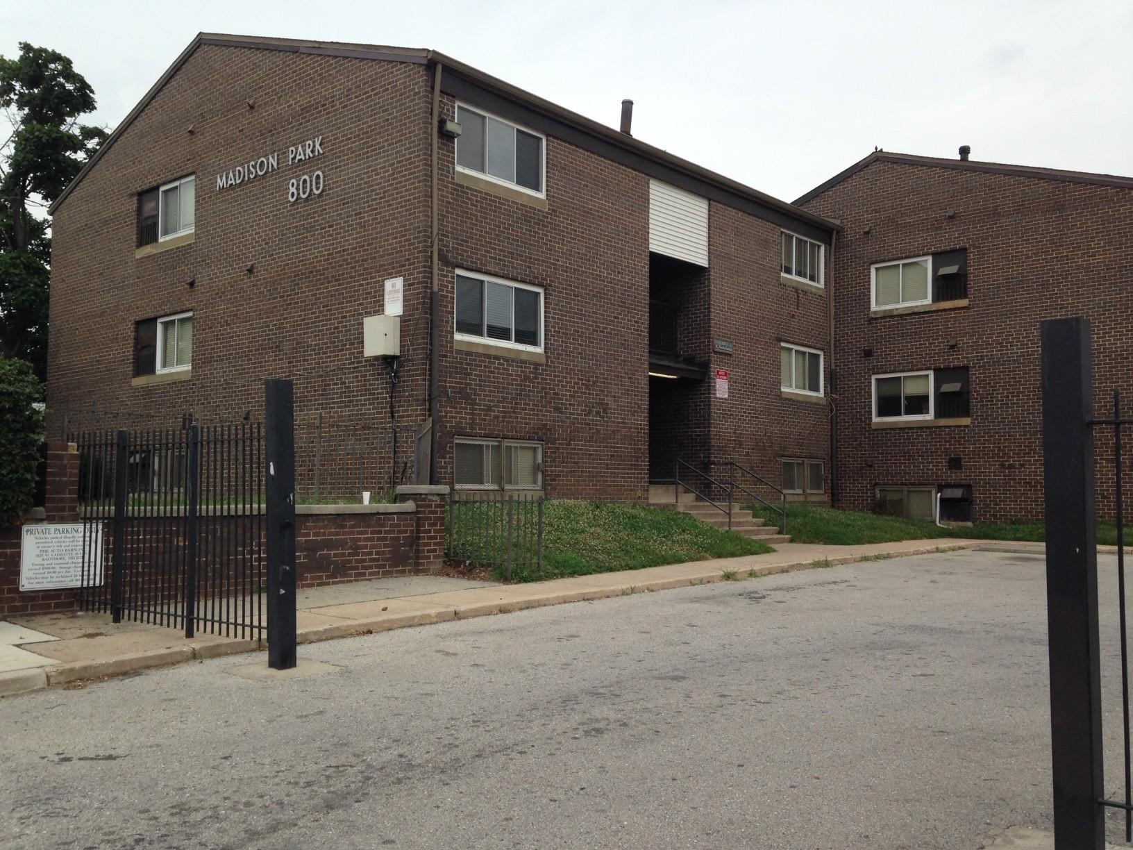Madison Park North Apartments are slated to be torn down in the next year.