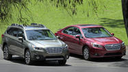Subaru bolsters safety features and technology in 2015 Outback and 2015 Legacy