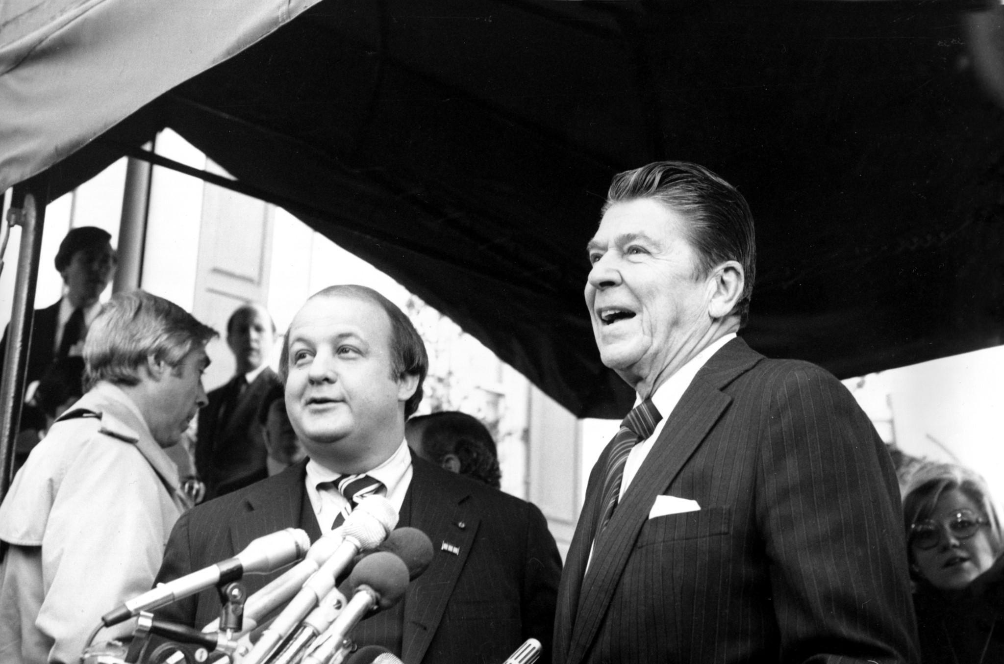 James Brady, Ronald Reagan\'s press secretary, dies at 73 - LA Times