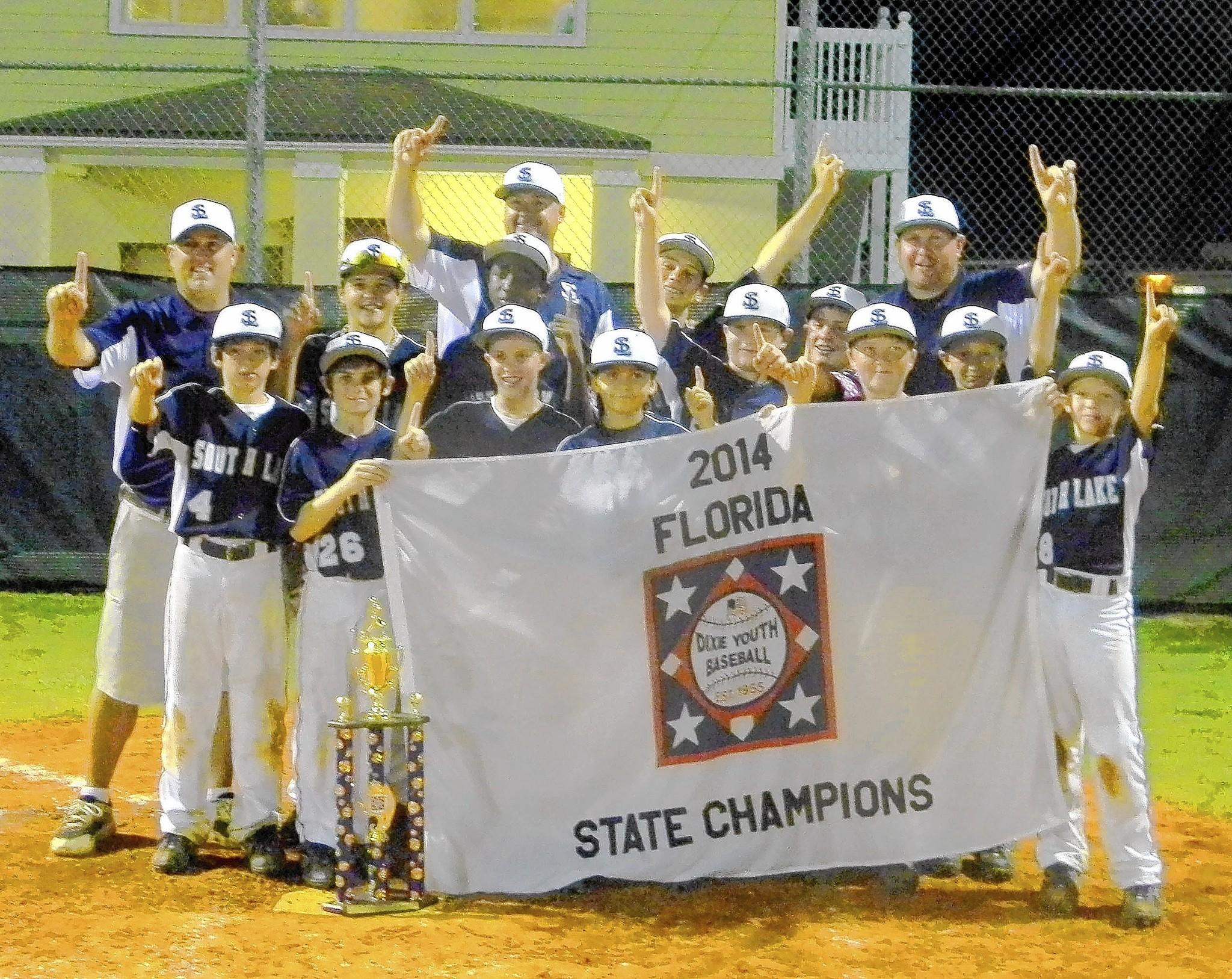 A South Lake team swept the Florida competition and is playing in the Dixie Youth World Series.