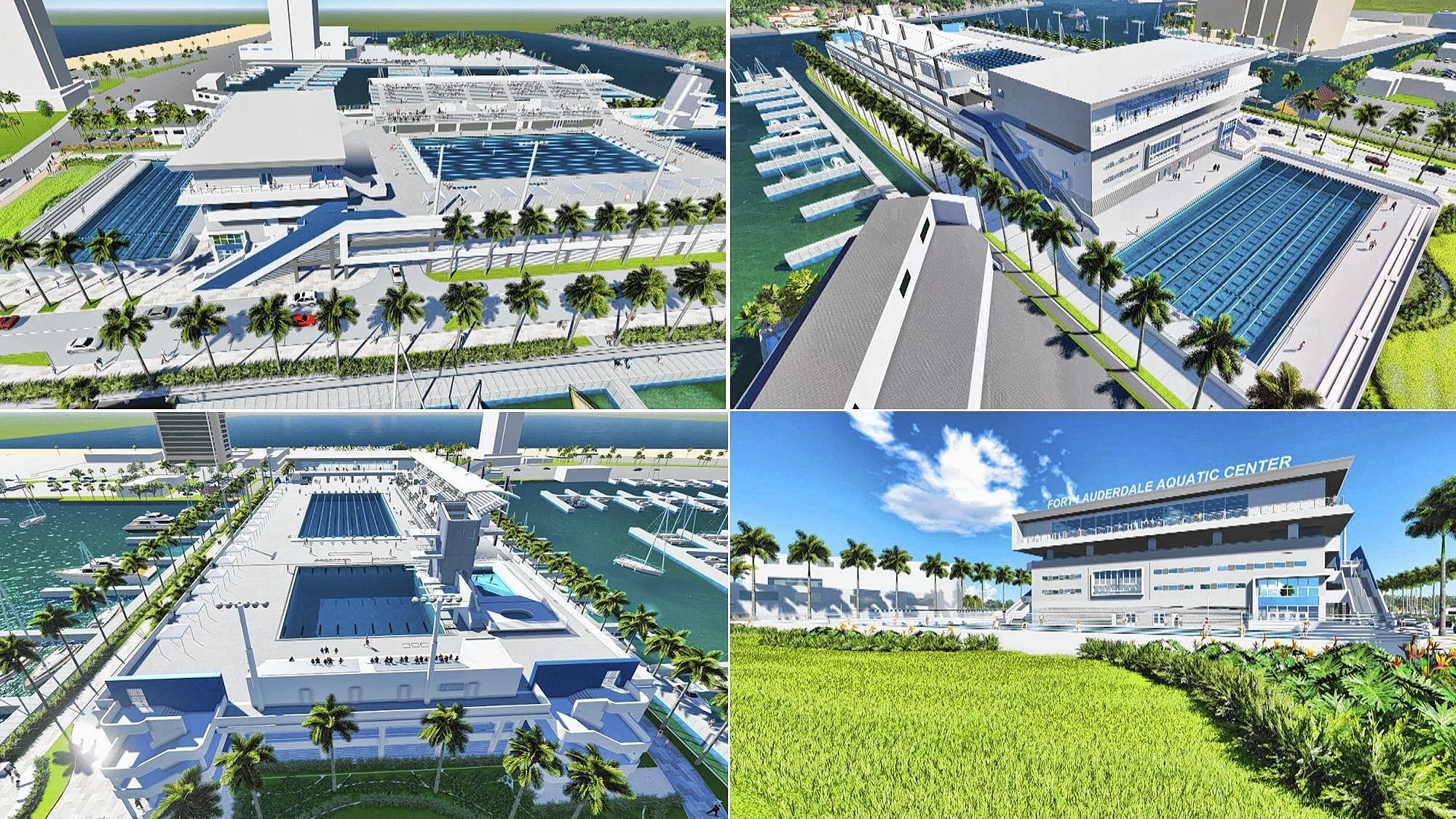 Fort Lauderdale Aquatic Center Discussion Postponed Tribunedigital Sunsentinel