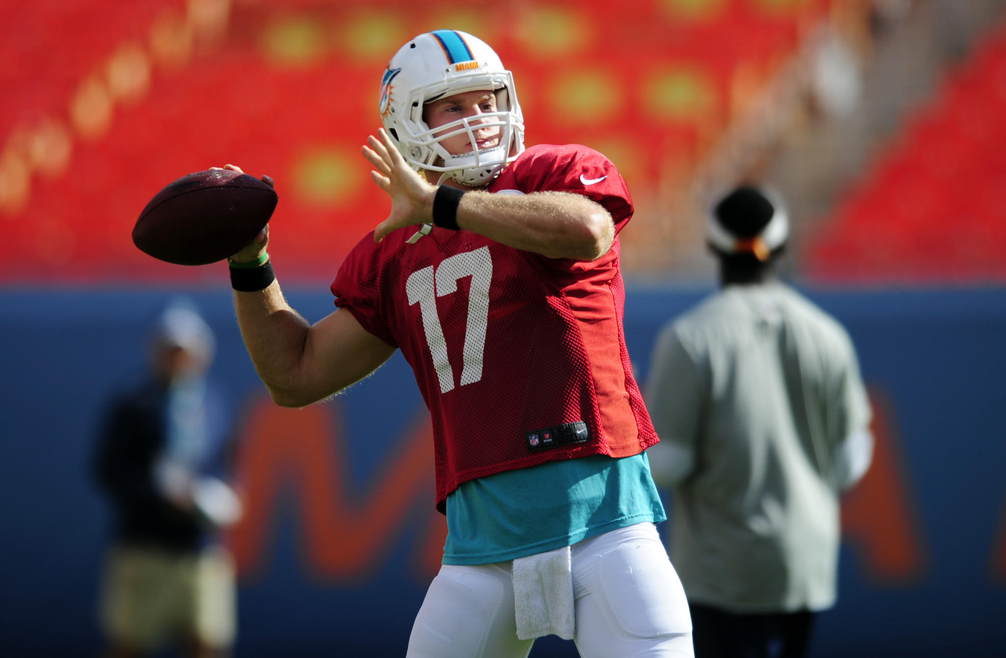 QB, 6-4, 220 NFL experience: Third season He showed improvement in his second season as an NFL starter, producing an 81.7 passer rating. But Tannehill needs to improve his completion percentage (60.4), throw fewer interceptions (17) and deliver more big plays.