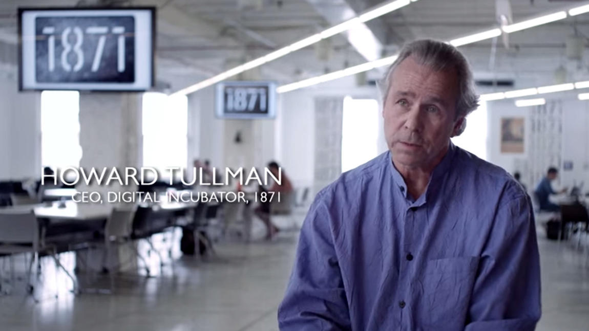There is no substitute for excellence -- Howard Tullman, CEO of 1871