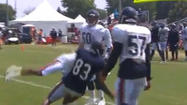 Watch Bears' Martellus Bennett body-slam rookie Kyle Fuller