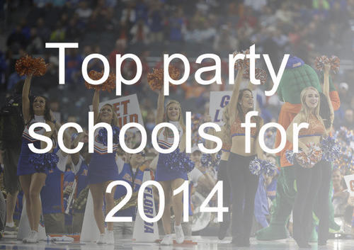 Pictures top party schools dailypress com