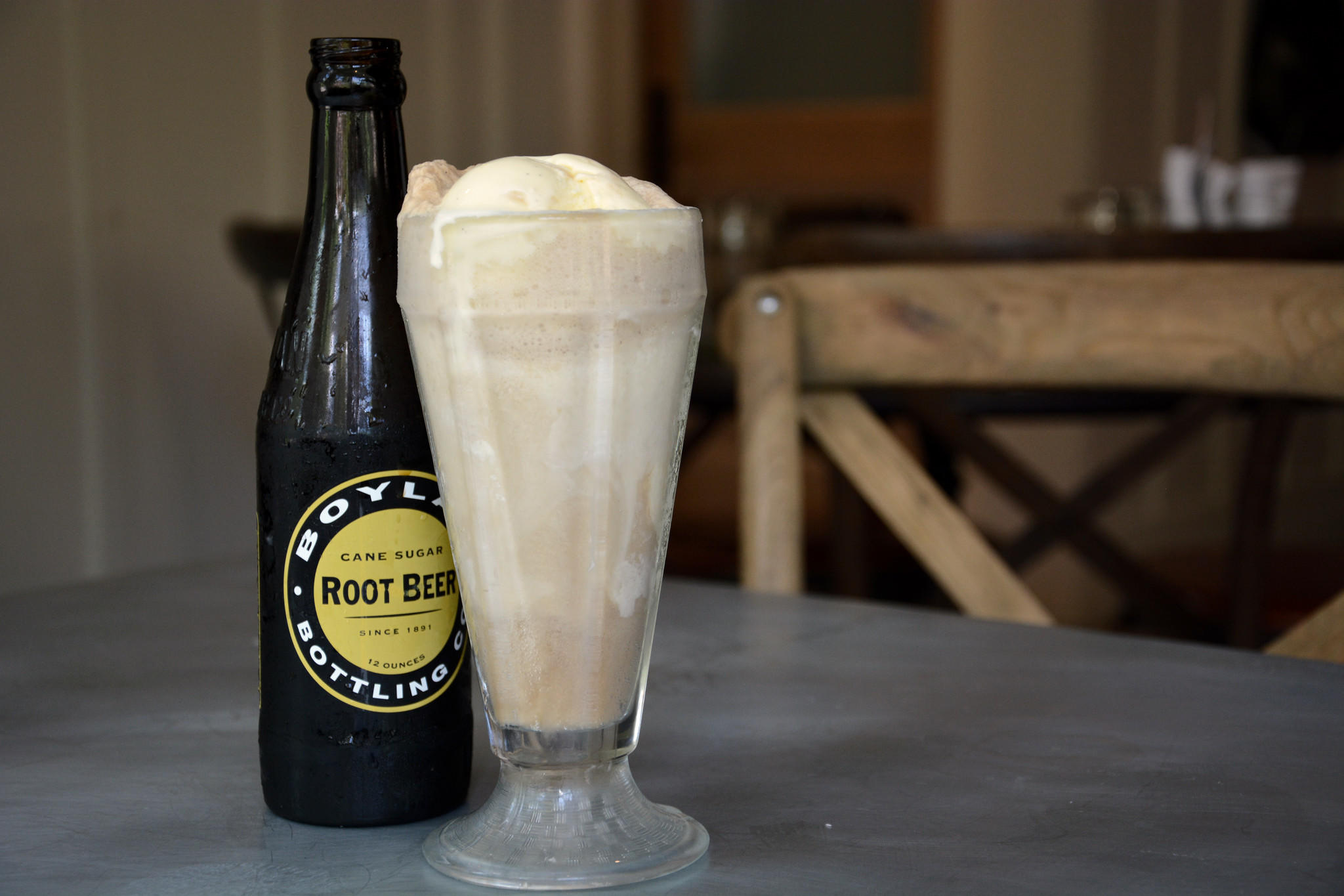 Johnny's in Roland Park will serve complimentary ice cream floats on Wednesday in honor of National Root Beer Float Day