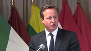 Cameron: NATO must rethink its relationship with Russia