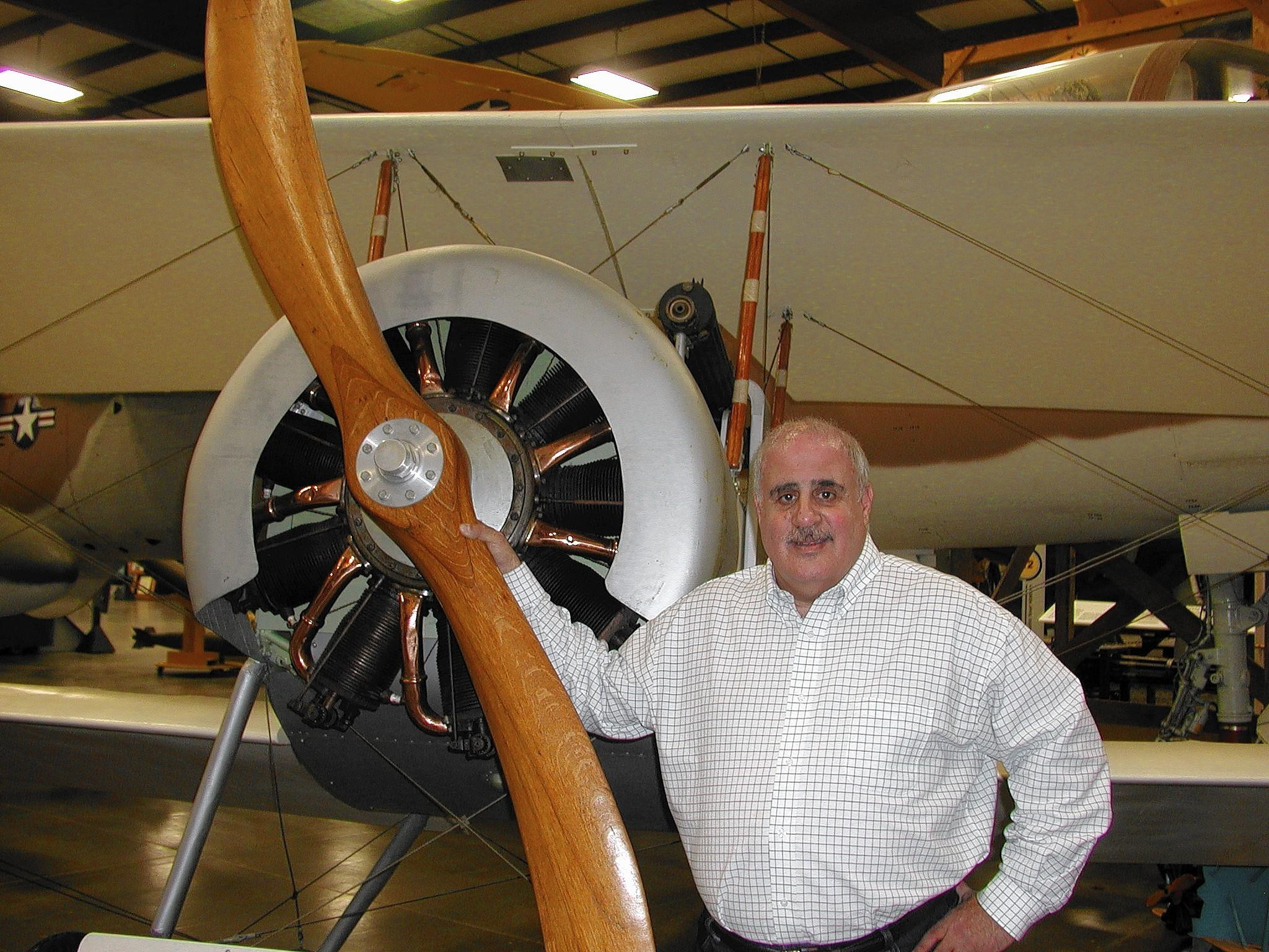 Michael P. Speciale, executive director of the New England Air Museum, is stepping down after nearly 30 years. Courtesy photo.